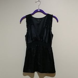 🎃BCBGmaxazria black silk top